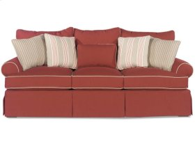 Paula Deen by Craftmaster Living Room Stationary Sofas, Three Cushion Sofas