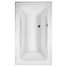Town Square 72x42 inch EcoSilent Combo Massage Tub - White