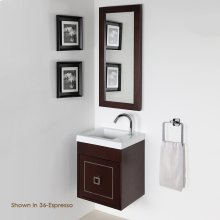 Metal inlay for Dimini vanity DIM-W-16 & DIM-24-W