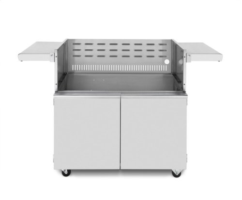 "Cart for 42"" grill"