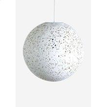 (LS) Luna decorative fiber pendant - Small..(14X14X14)..