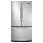 """JENN-AIR69"""" Counter-Depth, French Door Refrigerator with Internal Water/Ice Dispensers"""
