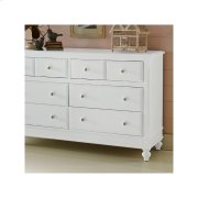 8 Drawer Dresser & Mirror Product Image