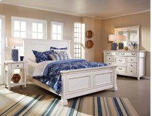 6 Piece Bedroom - Queen Bed, Dresser, Mirror, Chest