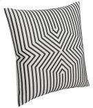 "Luxe Pillows Embroidered Graphic Lines (23"" x 23"") Product Image"