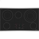 "Electric Radiant Cooktop with Electronic Touch Control, 36"", Stainless Steel Product Image"