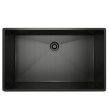 Black Stainless Steel ROHL Single Bowl Stainless Steel Kitchen Sink