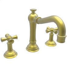 Satin Brass - PVD Widespread Lavatory Faucet