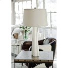 Alabaster Large Quatrefoil Lamp Product Image