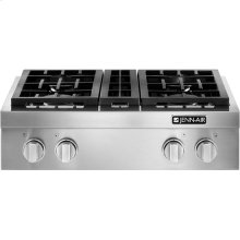 "Pro-Style® 30"" Gas Rangetop, Stainless Steel"