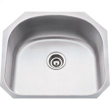"304 Stainless Steel (18 Gauge) Undermount Large Utility Sink. Overall Measurements: 23-1/4"" x 20-7/8"" x 9"""