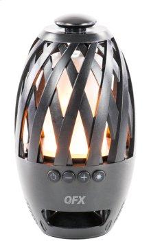 Flame LED Water Resistant Speaker True Wireless Stereo(tws) Bluetooth Speaker