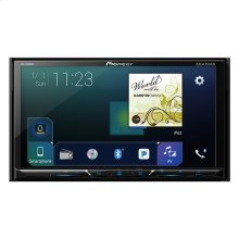 """Multimedia DVD Receiver with 7"""" WVGA Display, Apple CarPlay , Android Auto , Built-in Bluetooth®, SiriusXM-Ready and AppRadio Mode +"""