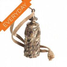 Gilt Gold Wood Tassel Tie Back