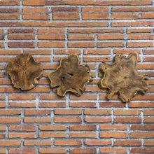 Kalani Wood Wall Decor, S/3
