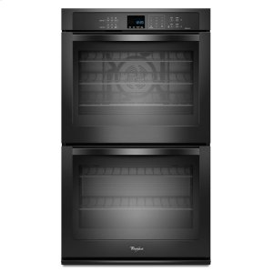 Gold(R) 10 cu. ft. Double Wall Oven with True Convection Cooking - BLACK
