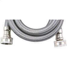 Braided Stainless Steel Washing Machine Hose (4ft)