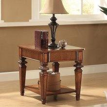 Windward Bay - Side Table - Warm Rum Finish