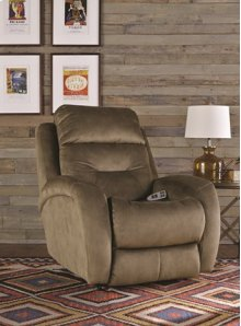 Layflat Recliner with Power Headrest & Lumbar System