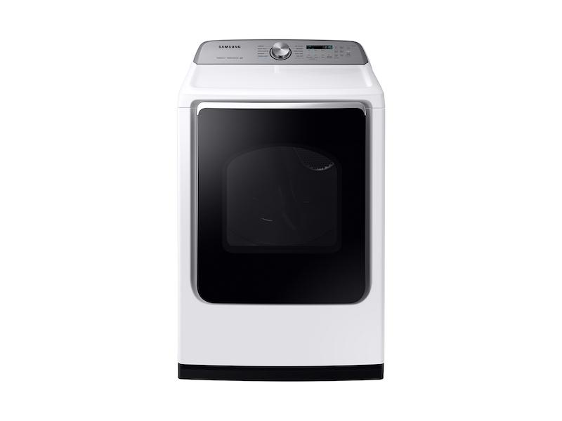 SamsungDv7200 7.4 Cu. Ft. Gas Dryer With Steam Sanitize+ In White