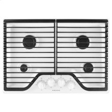 Amana® 30-inch Gas Cooktop with 4 Burners - White