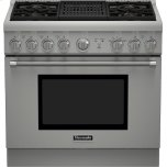 Thermador36 inch Professional Series Pro Harmony Standard Depth All Gas Range PRG364NLH
