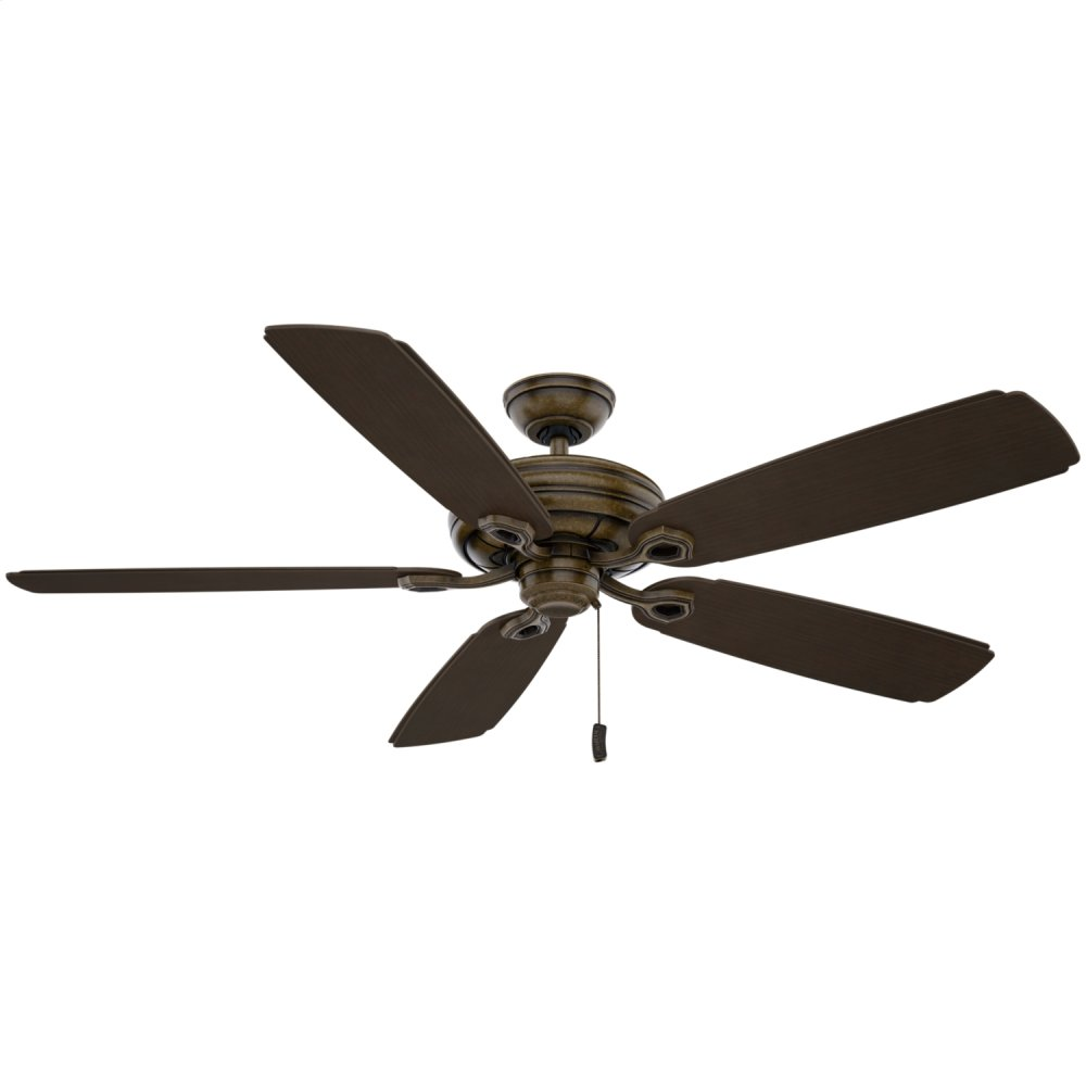 Charthouse Outdoor Motor Ceiling Fan  AGED BRONZE