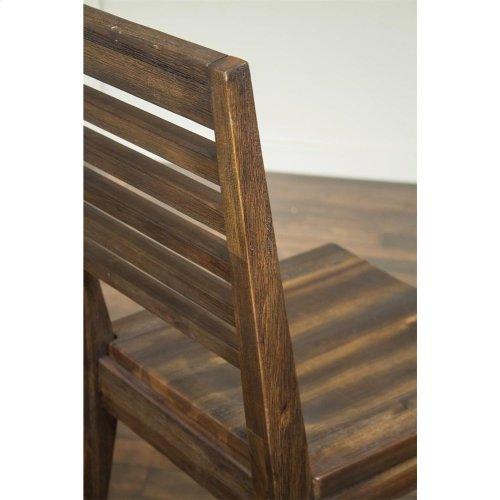 Modern Gatherings - Gathering Height Stool - Brushed Acacia Finish