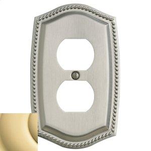 Polished Brass Rope Duplex Product Image