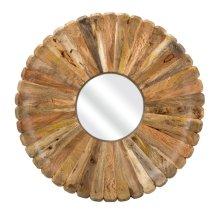Flora Wood Mirror