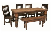 5' Dining Table Medio Finish