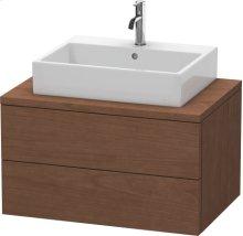 Delos Vanity Unit For Console, American Walnut (real Wood Veneer)