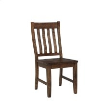 Rustic Lodge Slat Back Side Chair