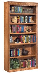 "72"" Open Bookcase Product Image"