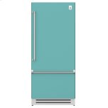 "Hestan36"" Bottom Mount, Bottom Compressor Refrigerator - KRB Series - Bora-bora"
