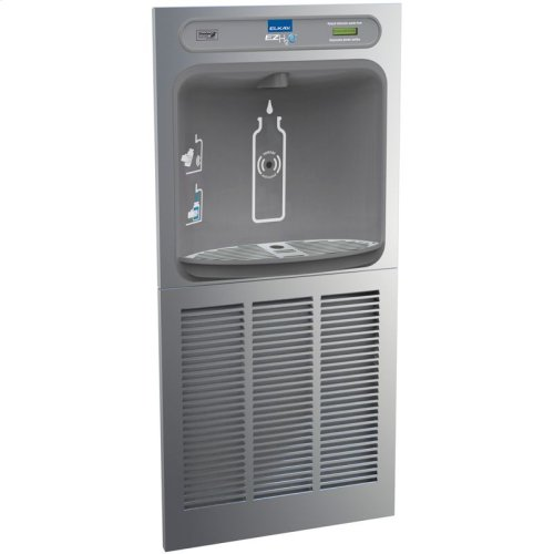 Elkay EZH2O In-Wall Bottle Filling Station, Non-Filtered 8 GPH Stainless