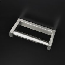 """Wall-mount 6 1/4""""W toilet paper holder made of stainless steel."""