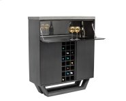 Langley Wine Cabinet - Grey Product Image