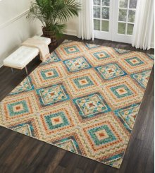 Vibrant Vib06 Ivory Rectangle Rug 4' X 6'