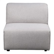 Rodeo Slipper Chair Light Grey