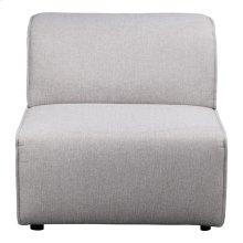 Rodeo Slipper Chair Light Grey
