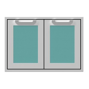 "Hestan30"" Hestan Outdoor Double Storage Doors - AGSD Series - Bora-bora"