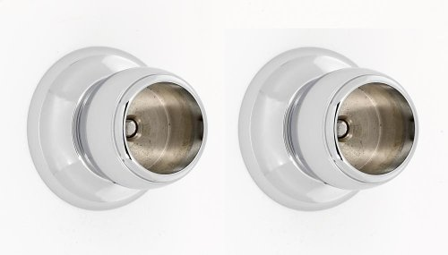 Royale Shower Rod Brackets A6646 - Polished Chrome