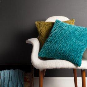 "Velvet Luxe P-0279 18"" x 18"" Pillow Shell with Polyester Insert"