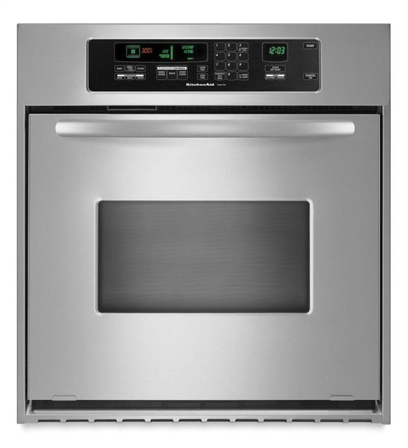 Kitchenaid 24 Inch Convection Single Wall Oven Architect Series Ii Handle