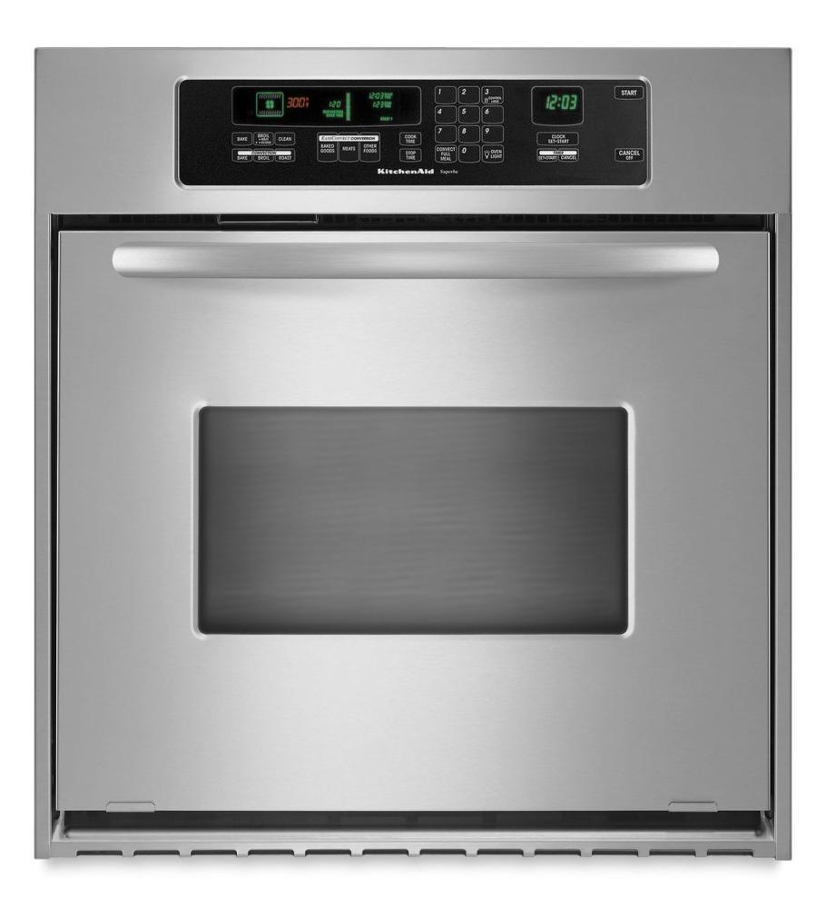 KitchenAid® 24 Inch Convection Single Wall Oven, Architect® Series II  Handle