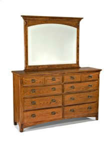 Pasadena Revival Eight Drawer Dresser