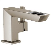 Single-handle Lavatory Faucet With Open-flow Spout