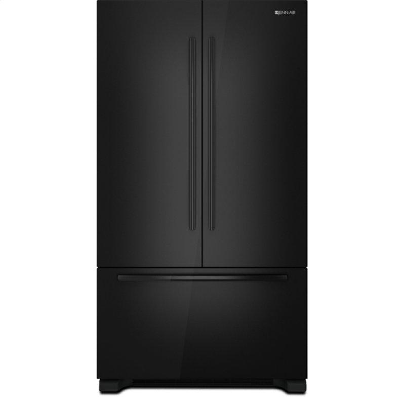Jenn Air 72 Counter Depth French Door Refrigerator Black Floating