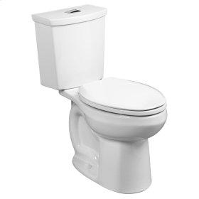 H2Option 15-inch Round Front Dual Flush Toilet - Linen